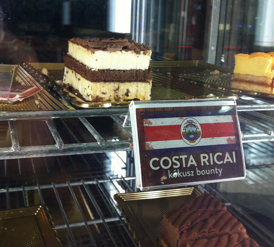 Costa-Ricai kókusz bounty