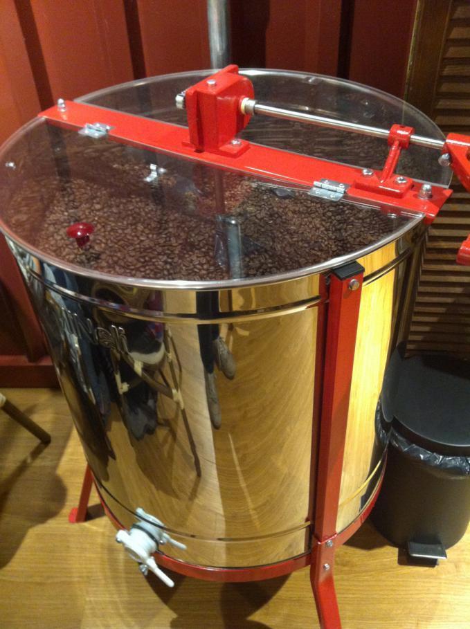 Frei Cafe Pörkölt Kávészemek Nagy Mennyiségben