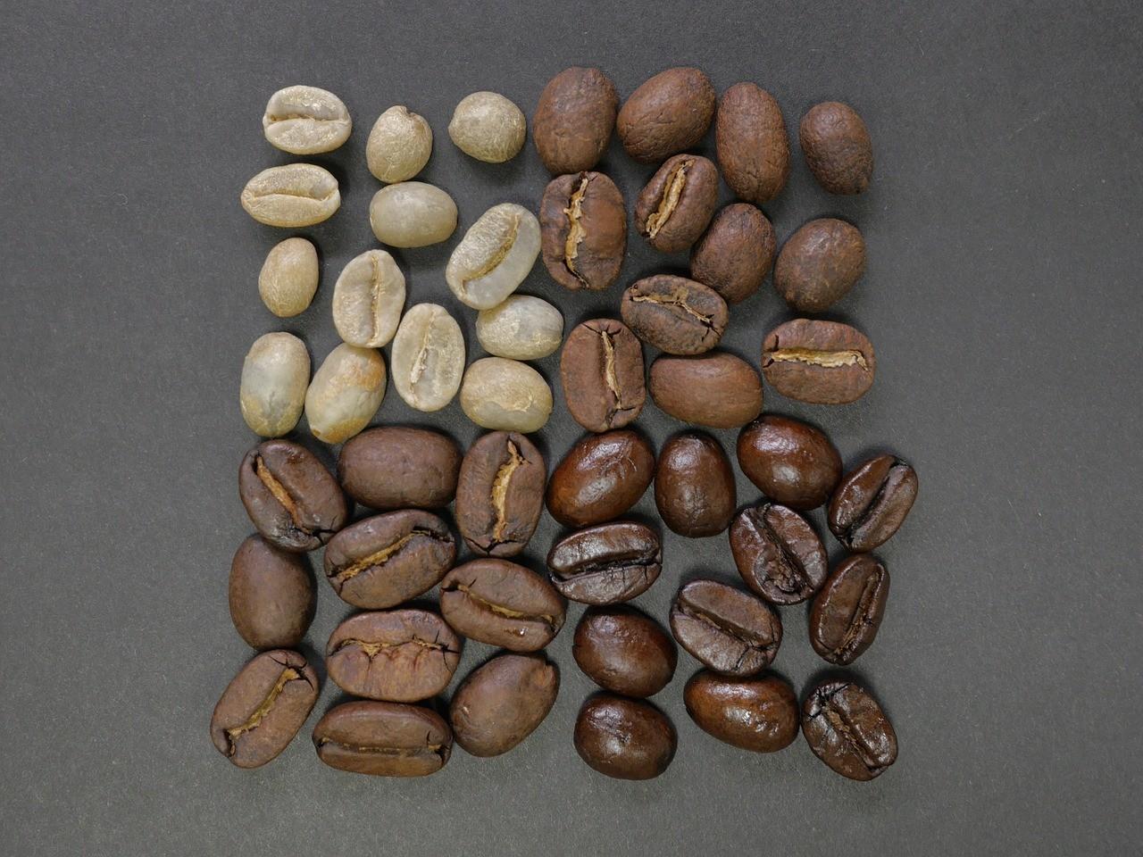 A kávébabok karakterei