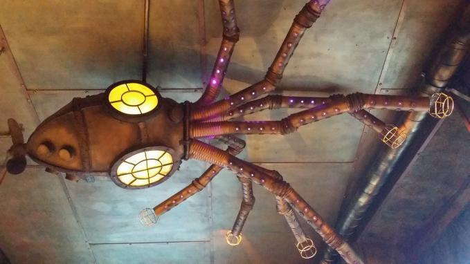 A plafonon egy Kraken!