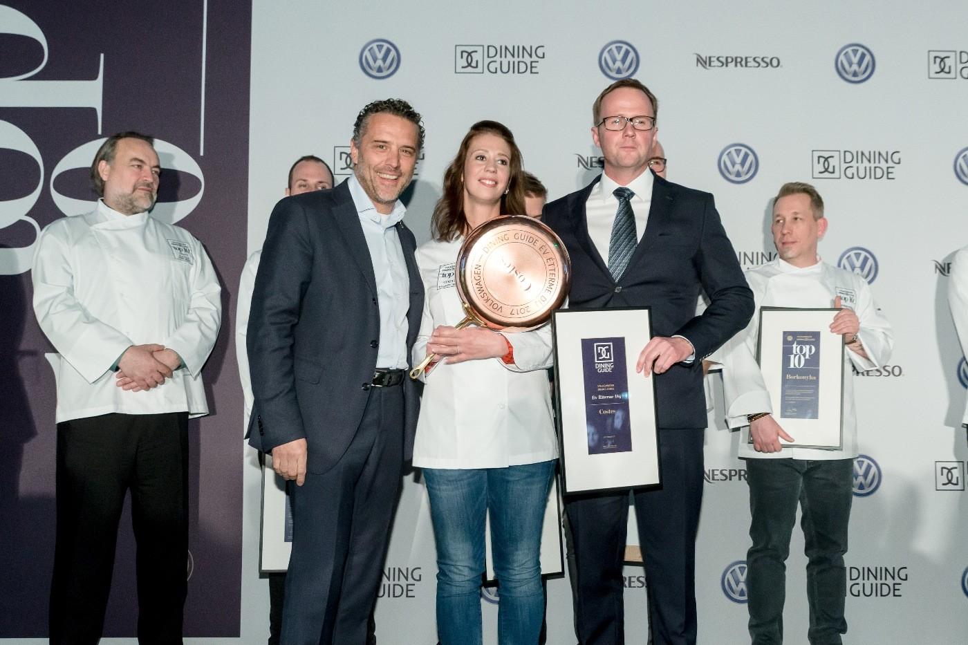 ev etterme dij costes palagyi eszter Február 27-én este a TEREM Budapest szolgált a Volkswagen - Dining Guide Év Étterme Díjátadó Gála helyszínéül, ahol Magyarország legjobb éttermeit díjazták.