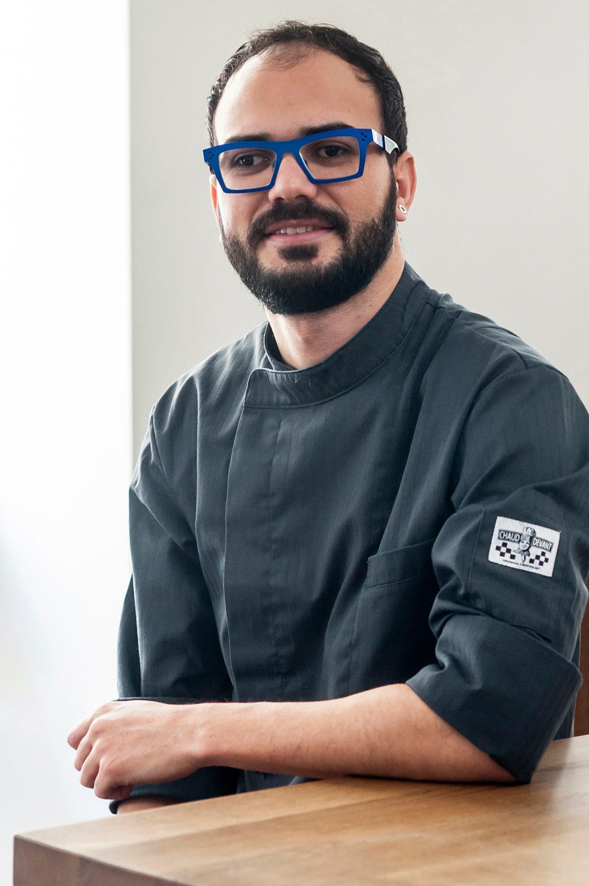 Andre Bicalho, az új séf
