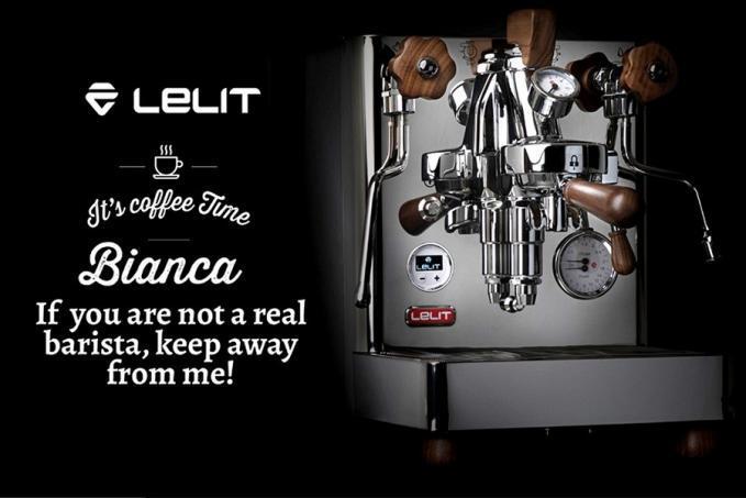 Lelit BIANCA otthoni kávéfőzőgép