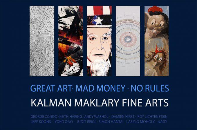 Nemzetközi sztárművészek a Kálmán Makláry Fine Arts galériában