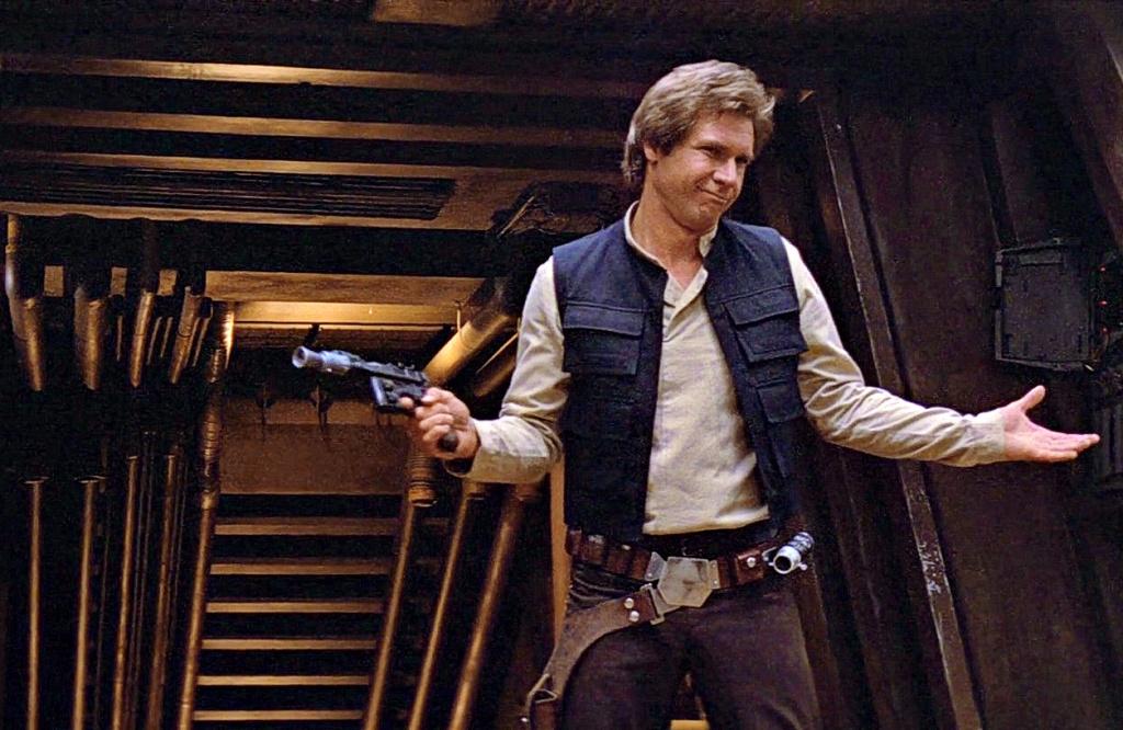 Harrison Ford a Jedi visszatér c. részben