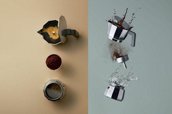 MOKA kávéfőző az ALESSI cég új tervezésében