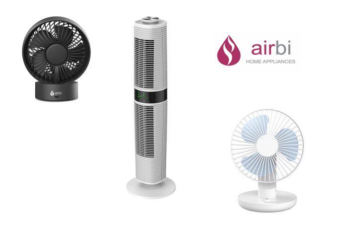 AIRBI sokoldalú formatervezett ventilátorok