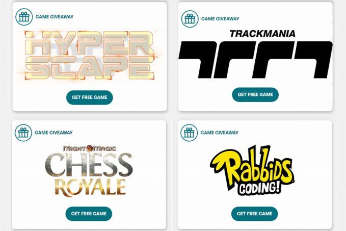 UBIsoft Free Events ajándék játékokkal kedveskedik