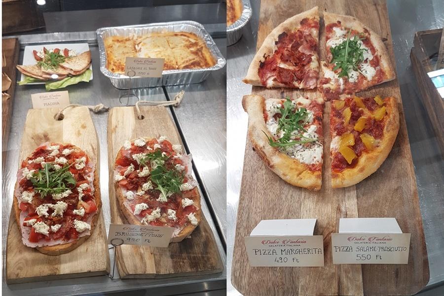 Bruschettone Pizza Dolce Fantasia mini gasztro körutazás Itáliában kijárási korlátozás mellett sem lehetetlen vállalkozás. Főleg Budapestieknek nem az.