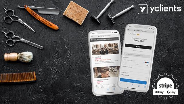 yclientsstripenew A YCLIENTS egy online időpontfoglaló és automatizációs platform a szolgáltatóipar számára.