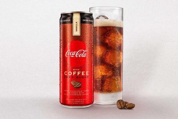 Coca-Cola kávé jéggel és buborékkal