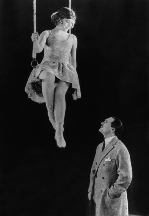 """Édouard-Émile Violet és Bánky Vilma a """"Cirkusz királya"""" című filmben"""