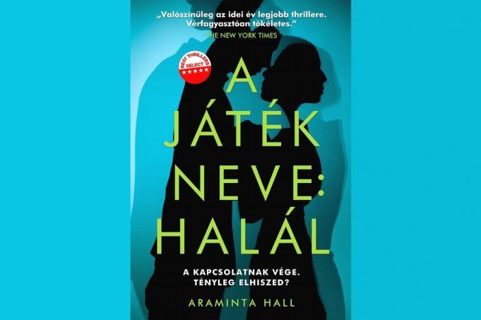 """Araminta Hall """"A játék neve: Halál"""" könyvbemutató"""