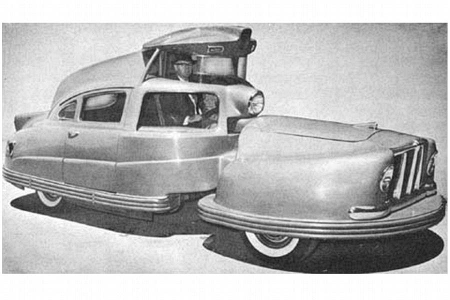 Sir Vival 1958 Koncepció autók – magyarul kissé esetlenül hangzik, mert hazai autógyártásunk nincsen és a buszgyártás sem egy vivőágazat.