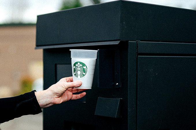 Starbucks betétdíjas pohár akció