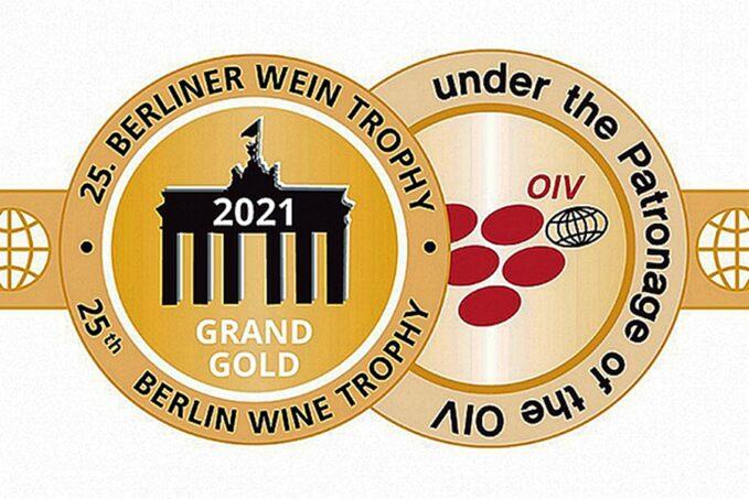 Berliner Wein Trophy 2021 magyar babérokkal