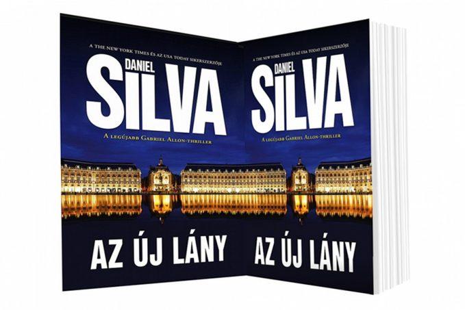 Daniel Silva Az új lány könyvismertető
