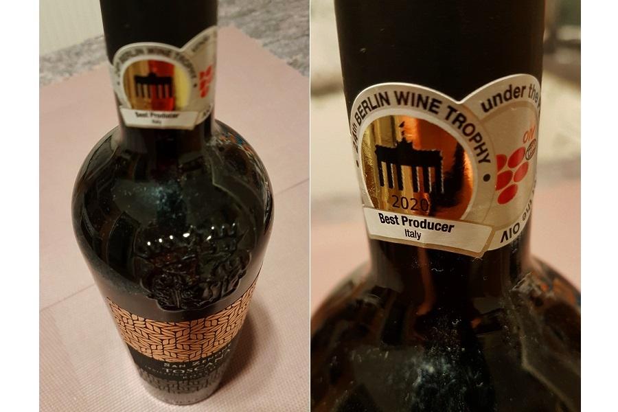 Toscana 2020 nyertes Berliner Wein Trophy 2021 magyar babérokkal zajlott le az áprilisban megrendezett német borversenyen. A rendezők nem fukarkodnak a díjakkal