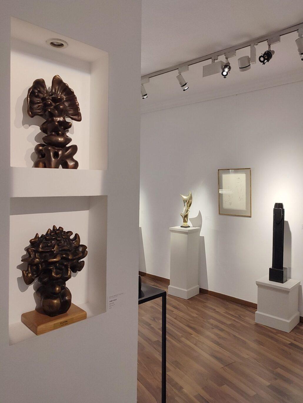 szoborkiallitas 2 Szoborkiállítás: A nagysikerű Magyar-Párizs kiállítás sorozat keretén belül jelenleg a szobrászművészek alkotásait mutatjuk be.
