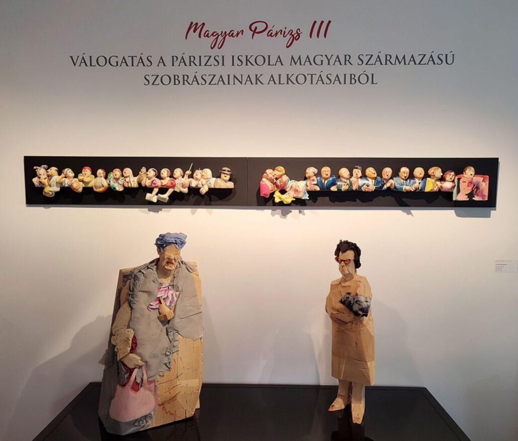 MAGYAR PÁRIZS III. - Válogatás a Párizsi Iskola magyar származású szobrászainak alkotásaiból
