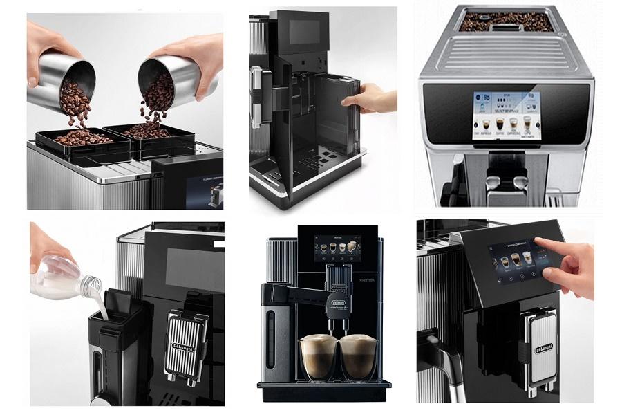 DeLonghi Maestoso EPAM960.75.GLM Ha a DeLonghi MAESTOSA kávégép otthonra szolgálatba lép, ne lepődjünk meg, ha minden barát gyakrabban akar majd nálunk vendégeskedni.