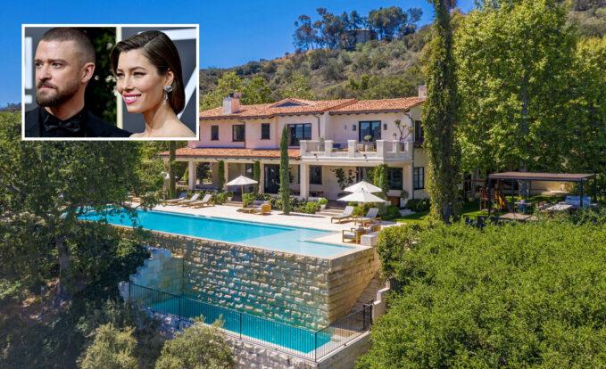Justin Timberlake és Jessica Biel luxus háza potom 35 millió dollár